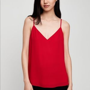 Babaton Everly Camisole in Red XS
